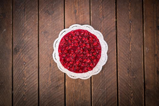 Ovocný cheesecake: 435