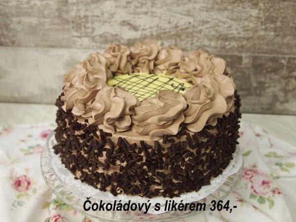 Čokoládový s likérem